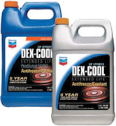 Chevron DEX-COOL® Extended Life Antifreeze/Coolant